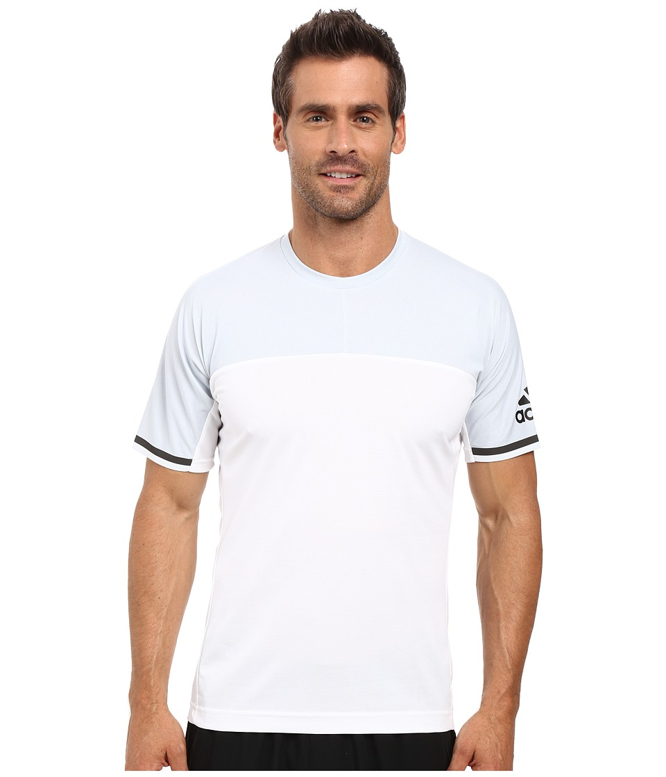 adidas Outdoor - All Outdoor Climachill Fast Crew (White) Men's T Shirt