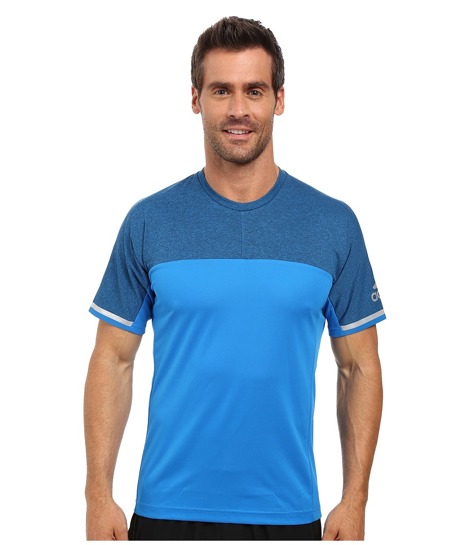 adidas Outdoor All Outdoor Climachill Fast Crew (Shock Blue) Men