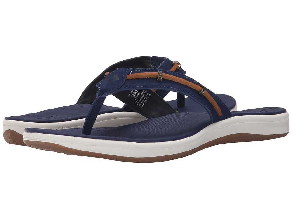 Sperry - Seabrook Wave (Navy/Tan) Women's Sandals