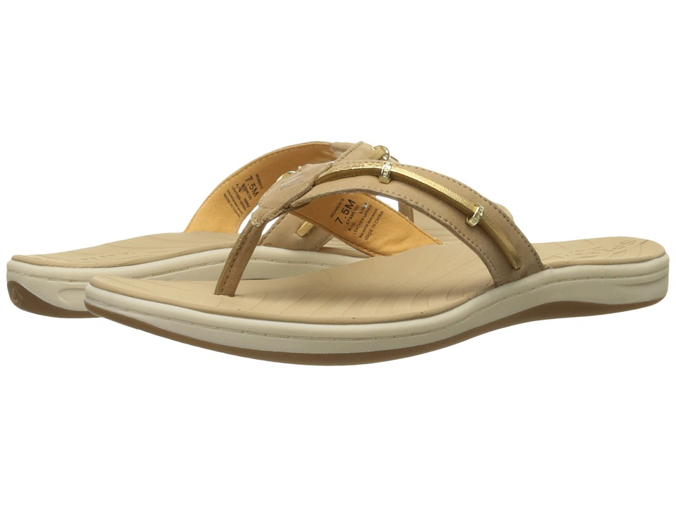Sperry - Seabrook Wave (Linen/Gold) Women's Sandals