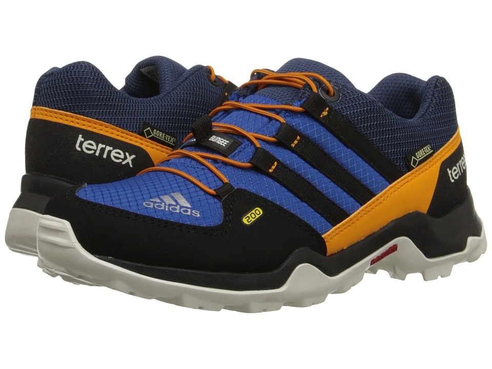 adidas Outdoor Kids - Terrex GTX (Little Kid/Big Kid) (Equipment Blue/Black/Equipment Orange) Boys Shoes