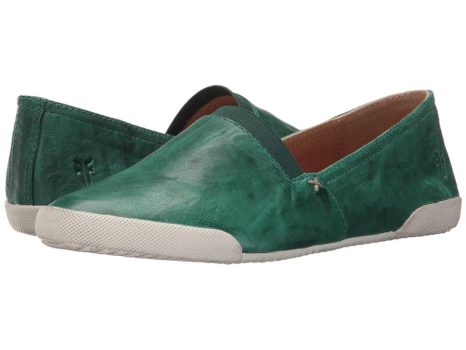 Frye - Melanie Slip On (Kelly Green Antique Soft Vintage) Women's Slip on Shoes
