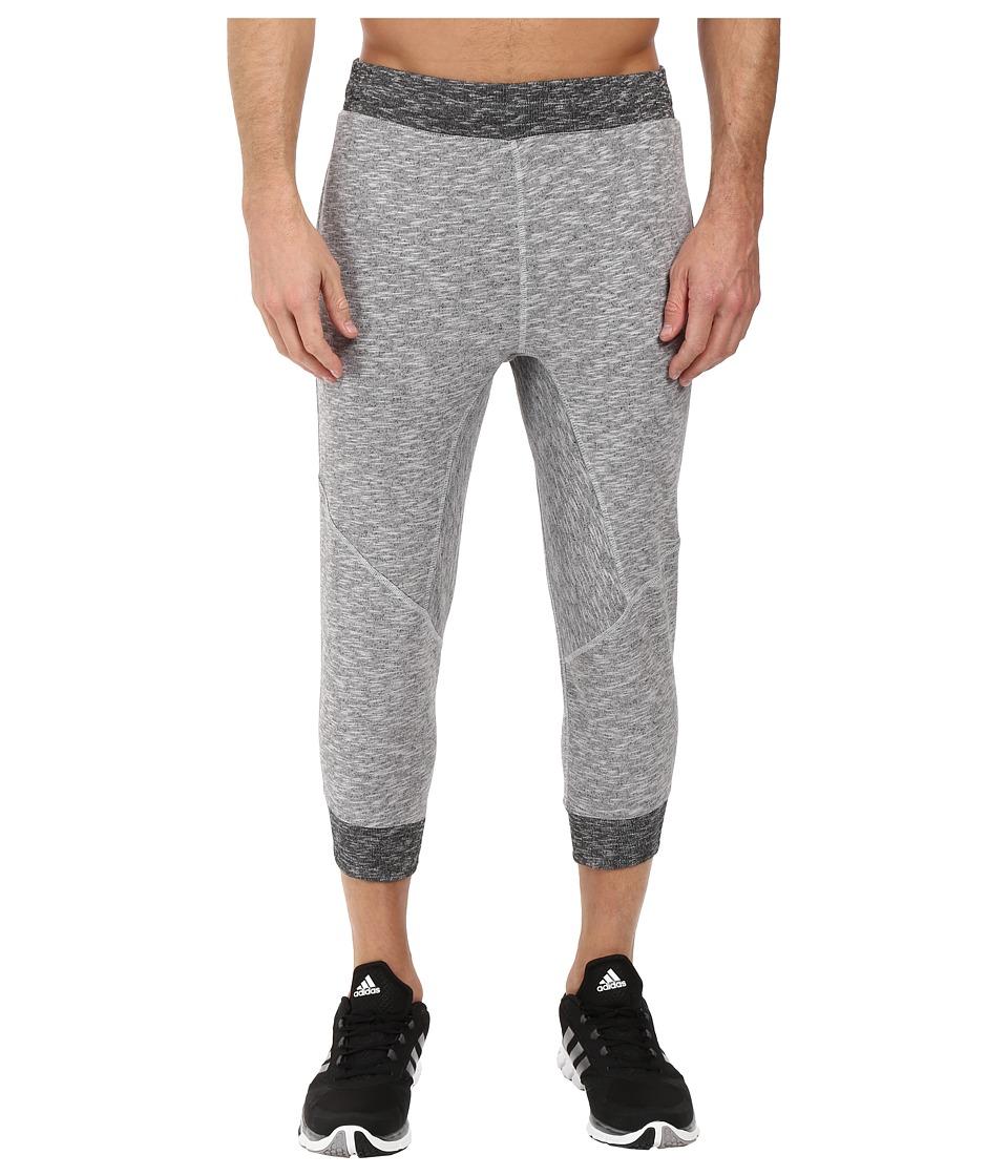 adidas - Wall 3/4 Pants (Light Solid Grey) Men's Casual Pants