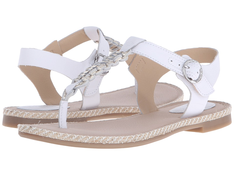 Sperry - Anchor Away (White/Platinum) Women's Sandals