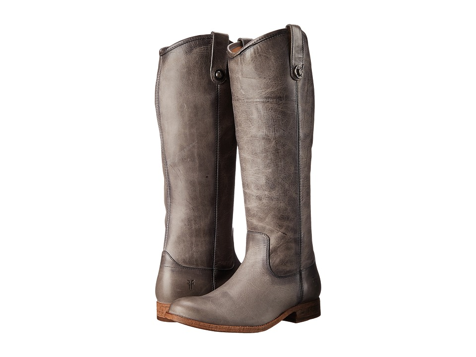Frye Melissa Button (Ice Washed Antique Pull Up) Cowboy Boots