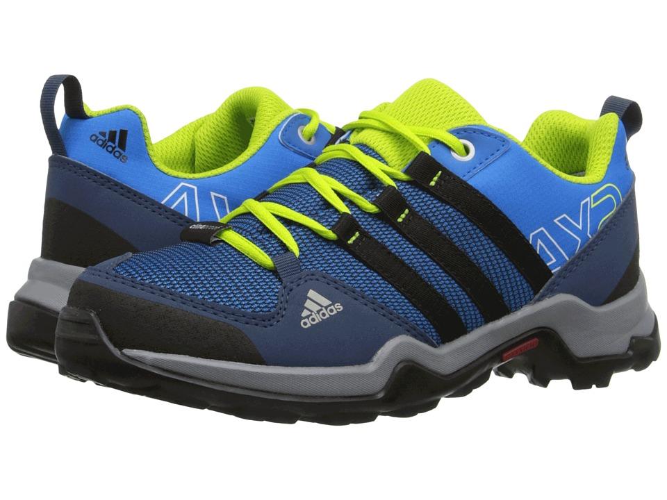 Image of adidas Outdoor Kids - AX2 CP (Little Kid/Big Kid) (Shock Blue/Black1/Semi Solar Slime) Boys Shoes
