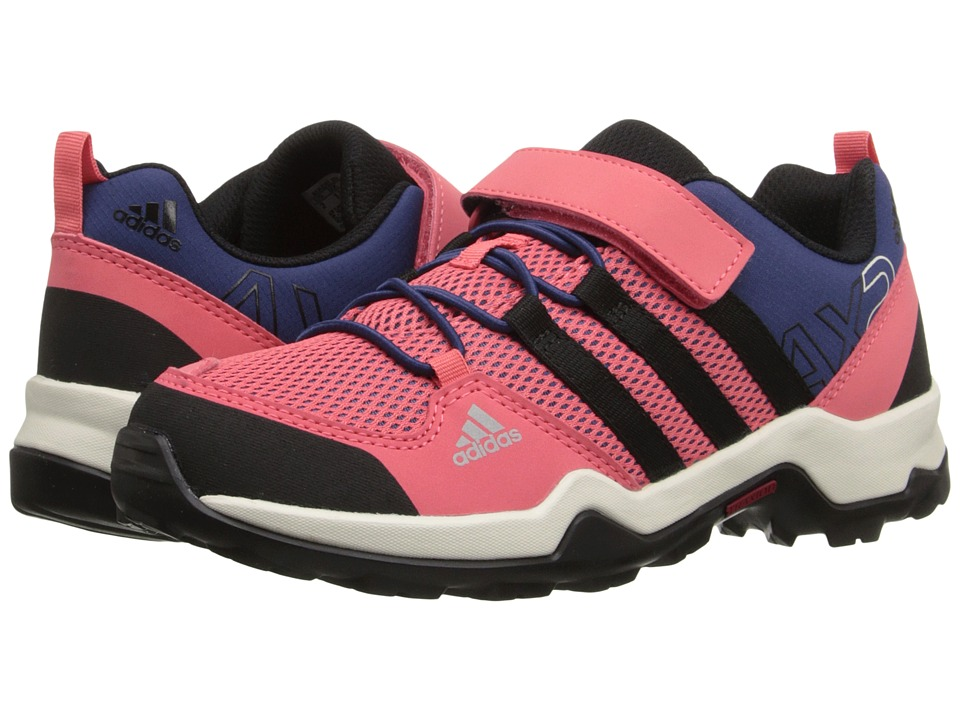 adidas Outdoor Kids - AX2 CF (Little Kid/Big Kid) (Super Blush/Black/Raw Purple) Girls Shoes