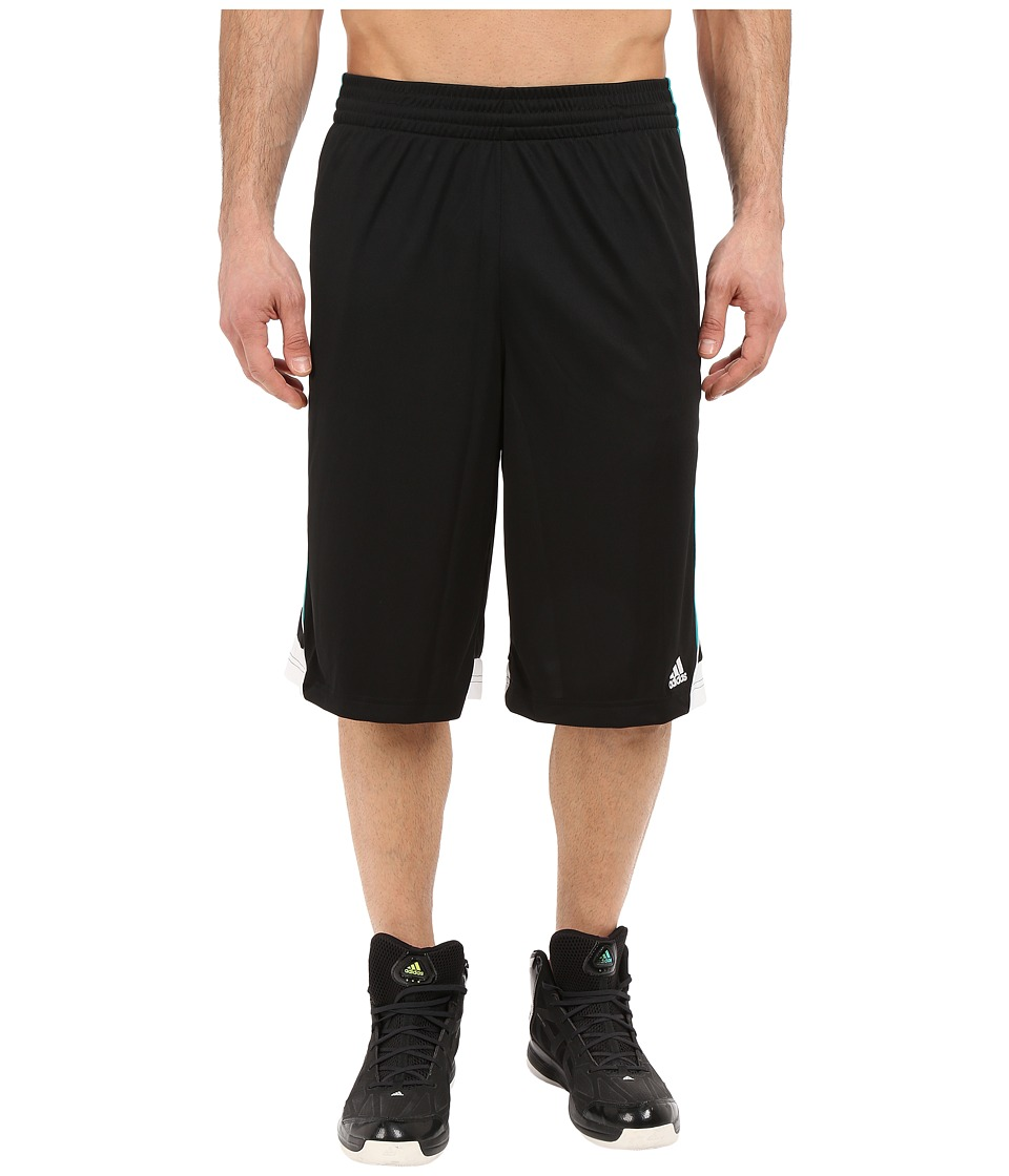 adidas - 3G Speed Short (Black/EQT Green/White) Men's Shorts