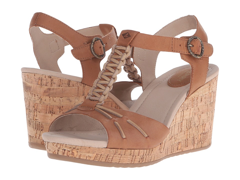 Sperry - Dawn Sky (Tan) Women's Wedge Shoes