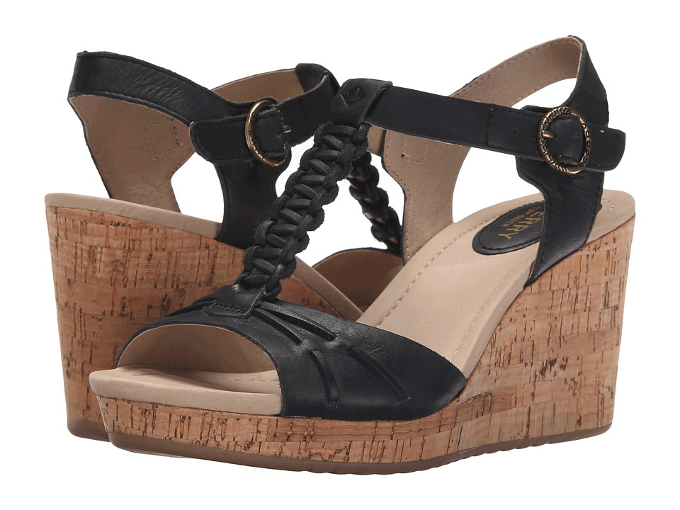 Sperry Top-Sider - Dawn Sky (Black) Women's Wedge Shoes