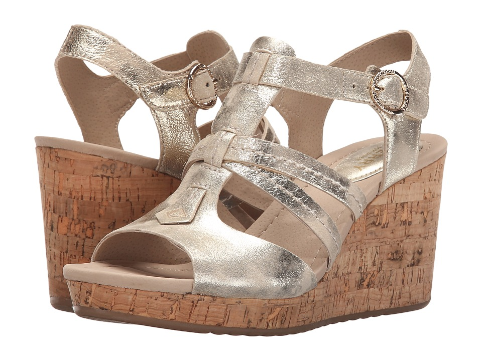 Sperry - Dawn Day (Platinum) Women's Wedge Shoes