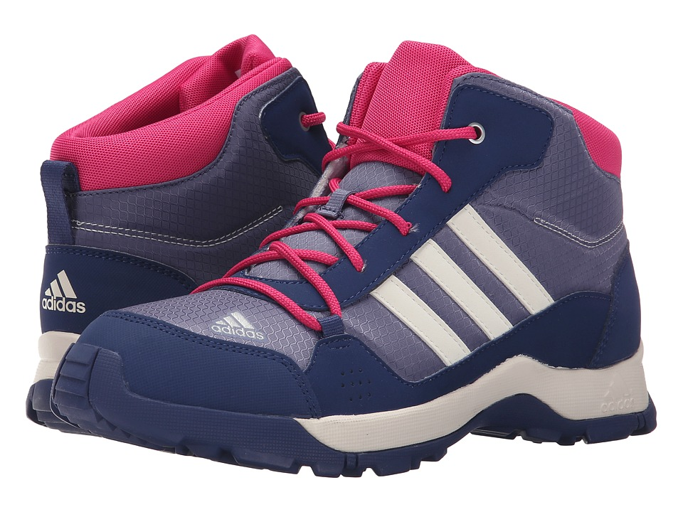 adidas Outdoor Kids - Hyperhiker (Little Kid/Big Kid) (Super Purple/Chalk White/Raw Purple) Girls Shoes