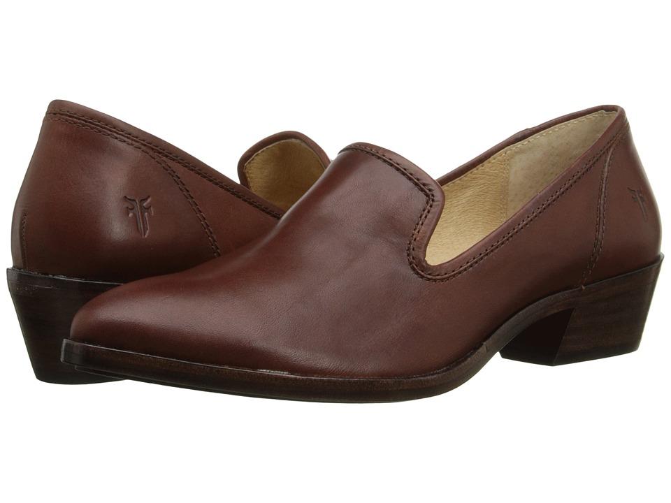 Frye Reese Venetian Redwood Smooth Oiled Veg Womens Slip on  Shoes