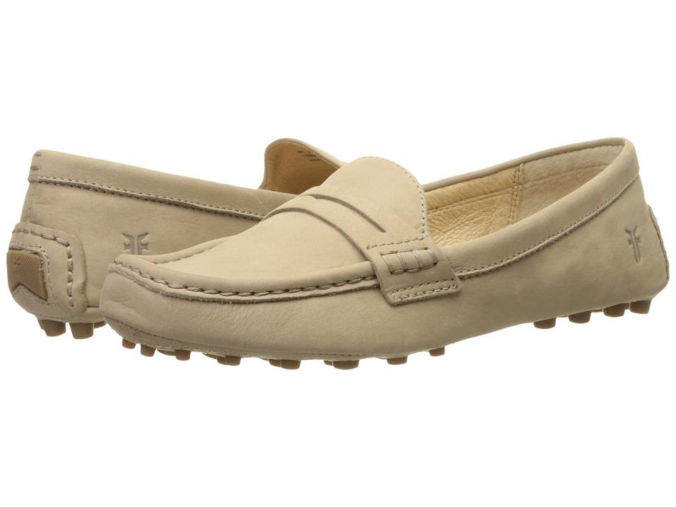 Frye - Rebecca Penny (Cement Soft Nubuck) Women's Slip on Shoes