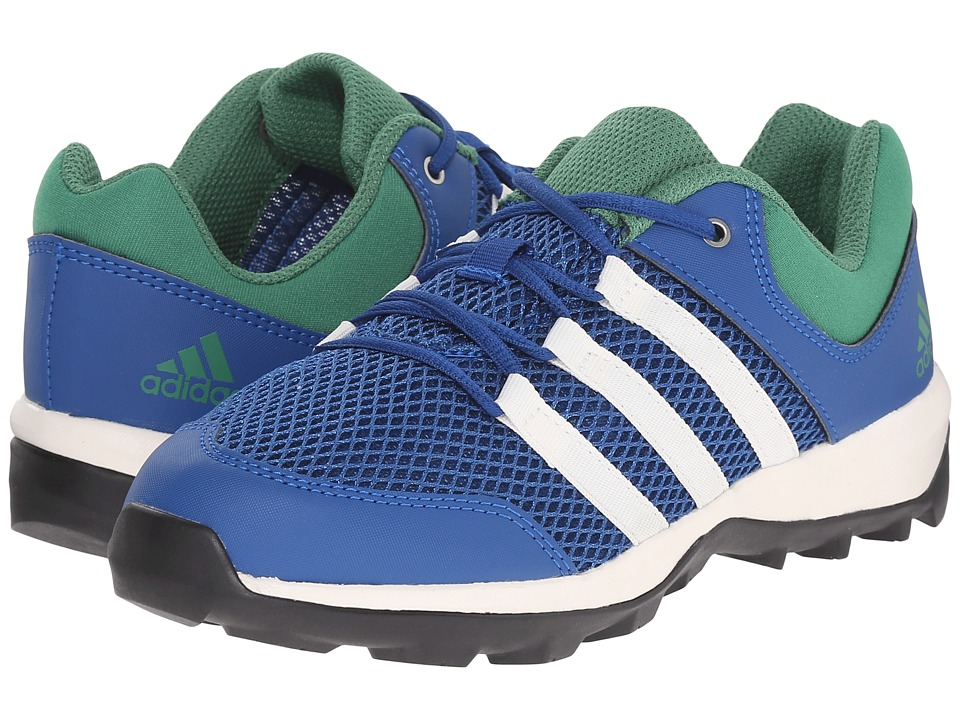 adidas Outdoor Kids - Daroga Plus (Little Kid/Big Kid) (Equipment Blue/Chalk White/Blangreen) Boys Shoes