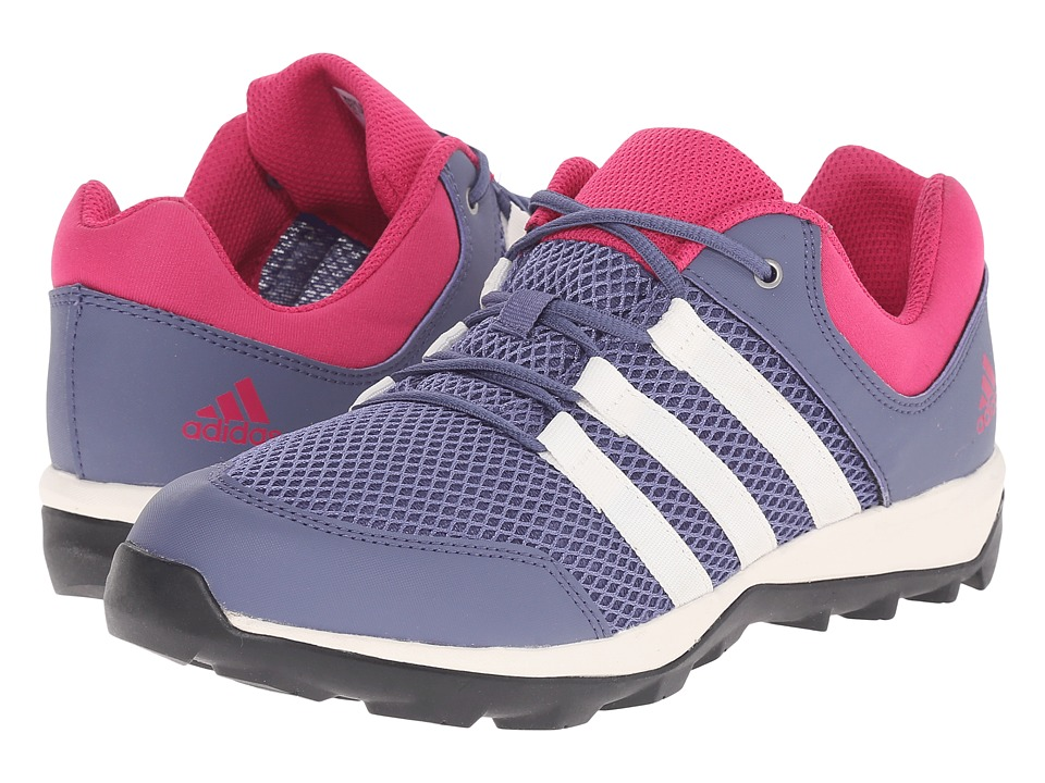 adidas Outdoor Kids - Daroga Plus (Little Kid/Big Kid) (Super Purple/Sun Glow/Equipment Pink) Girls Shoes