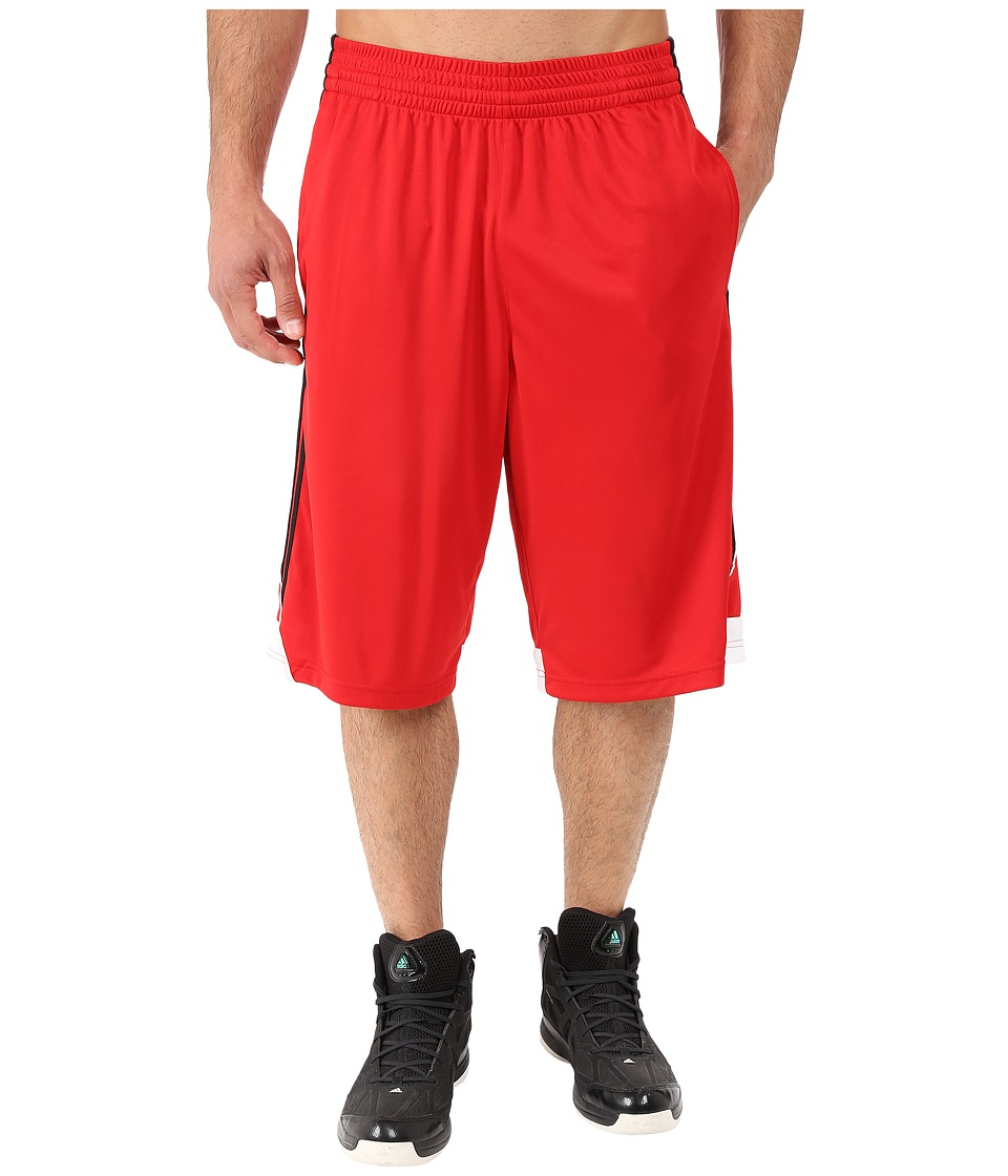 adidas - 3G Speed Short (Scarlet/Black/White) Men's Shorts