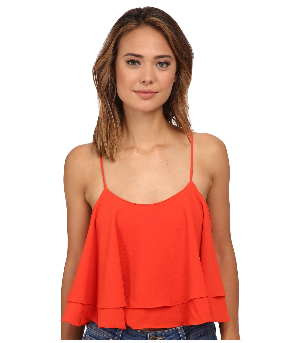 Free People - Tropical Wave Top (Paprika) Women's Clothing