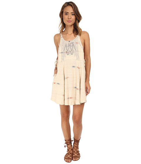 Free People - Arizona Mini Dress (Tea Combo) Women