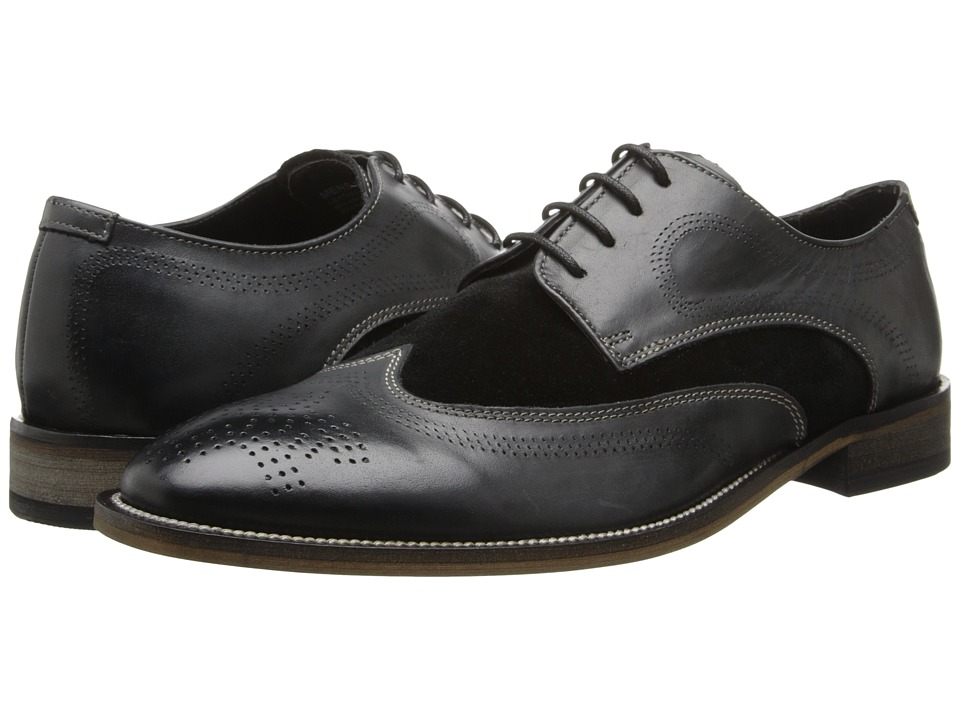 Stacy Adams - Revel (Black) Men's Lace Up Wing Tip Shoes