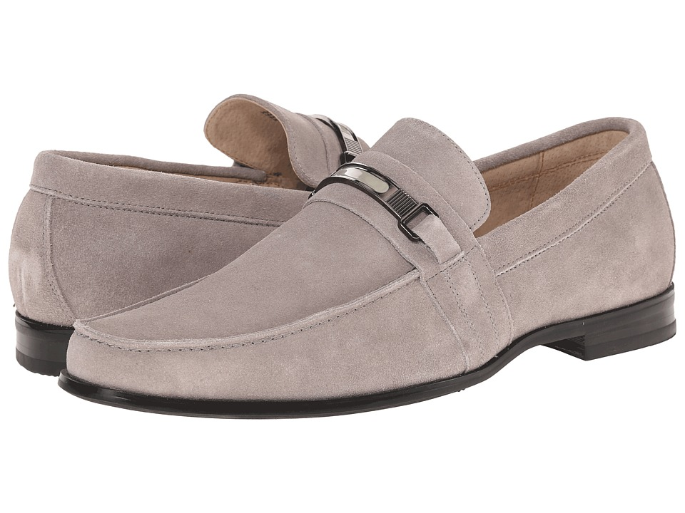 Stacy Adams - Carville (Cement) Men's Slip on Shoes