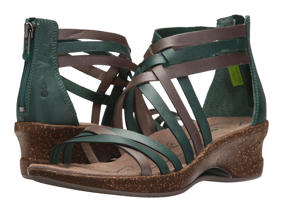 Ahnu - Trolley (Dusty Teal/Mesa Taupe) Women's Dress Sandals