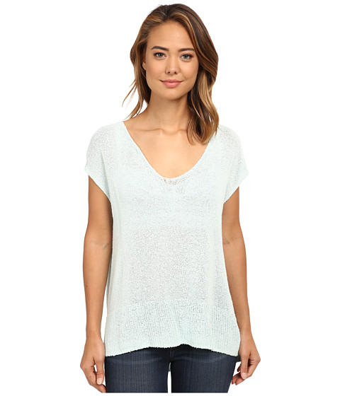 Free People - Easy Tea Top Sweater (Mint) Women's Sweater