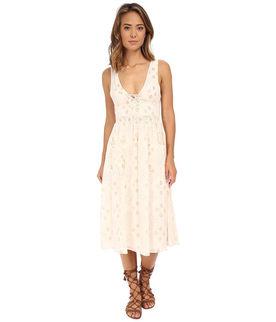 Free People - Pocketful Dress (Ivory Combo) Women's Dress