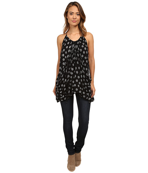 Free People - Kimmie Tunic (Black Combo) Women's Blouse