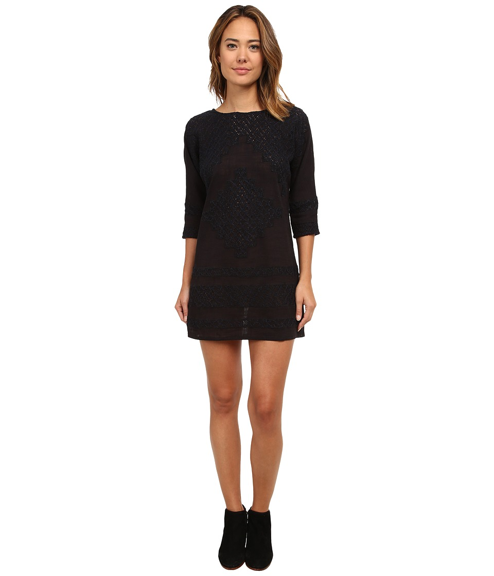 Free People - Desert Song Dress (Black) Women's Dress