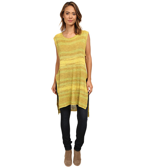 Free People - Sunny Days Sweater (Lemon Combo) Women's Sweater
