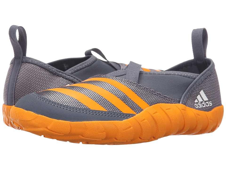 adidas Outdoor Kids Jawpaw (Toddler/Little Kid/Big Kid) (Onix/Equipment Orange/Grey) Boys Shoes