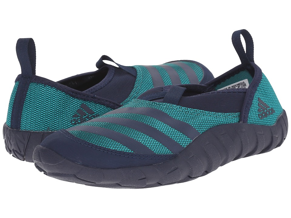 adidas Outdoor Kids - Jawpaw (Toddler/Little Kid/Big Kid) (Collegiate Navy/White/Equipment Green) Boys Shoes