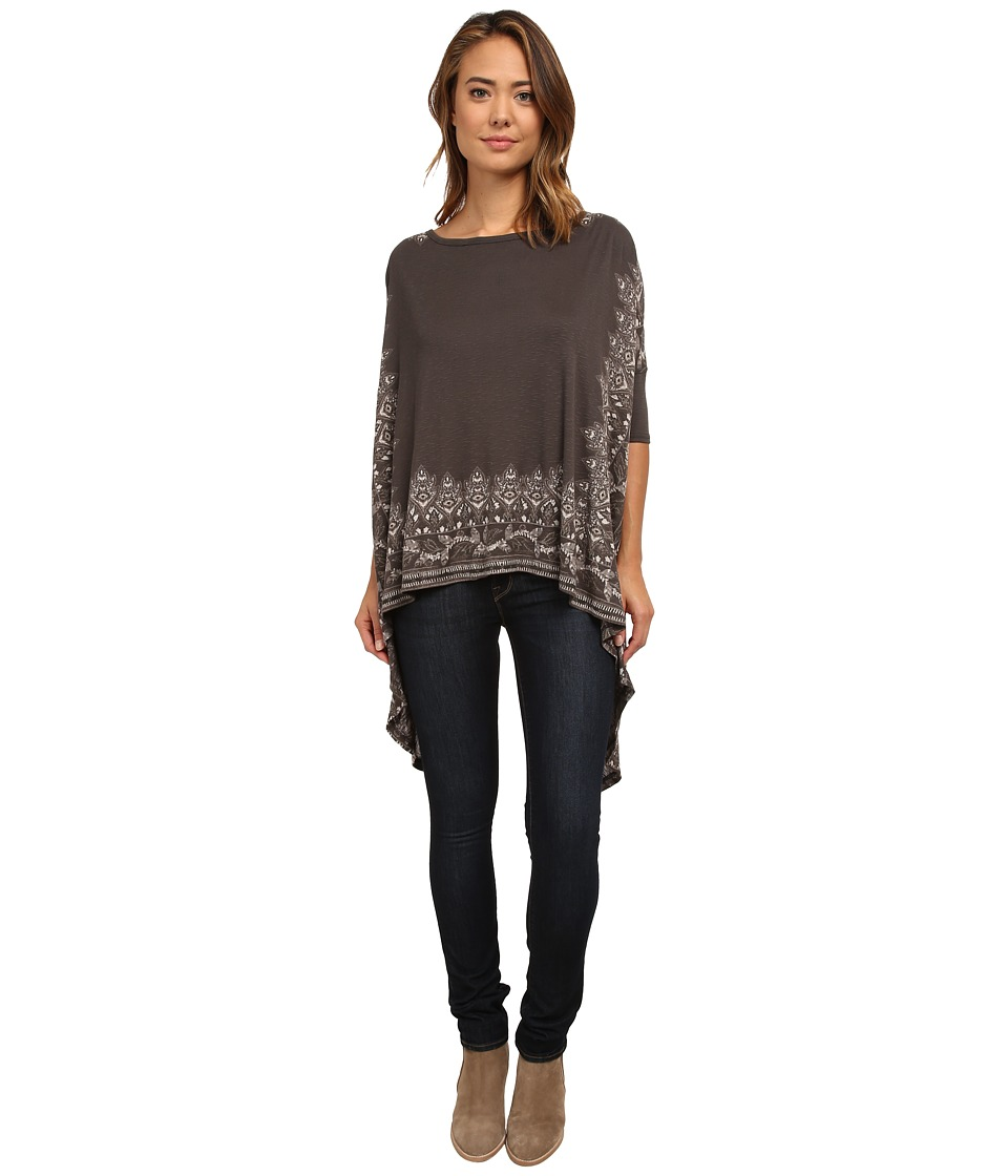 Free People - Pick Me Up Tee (Night Combo) Women's T Shirt
