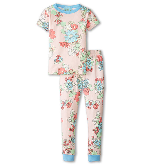BedHead Kids - Short Sleeve Snug PJ (Toddler/Little Kids) (Le Jardin) Girl's Pajama Sets