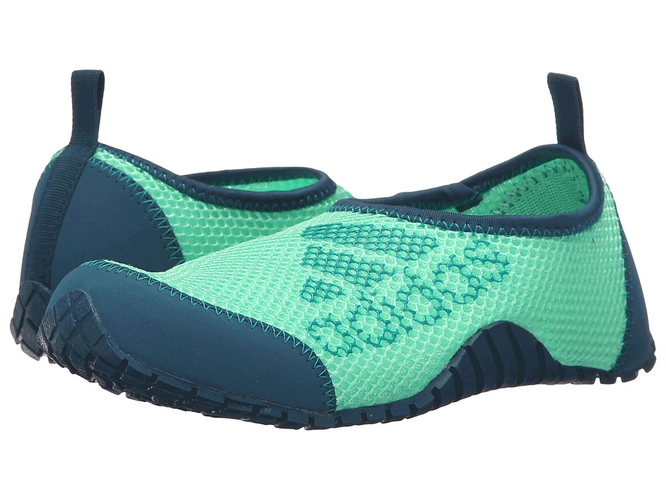 adidas Outdoor Kids - Kurobe (Toddler/Little Kid/Big Kid) (Mineral/Equipment Green/Green Glow) Boys Shoes