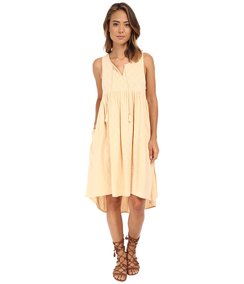 Free People - Perfect Day Extreme Top (Light Peach) Women