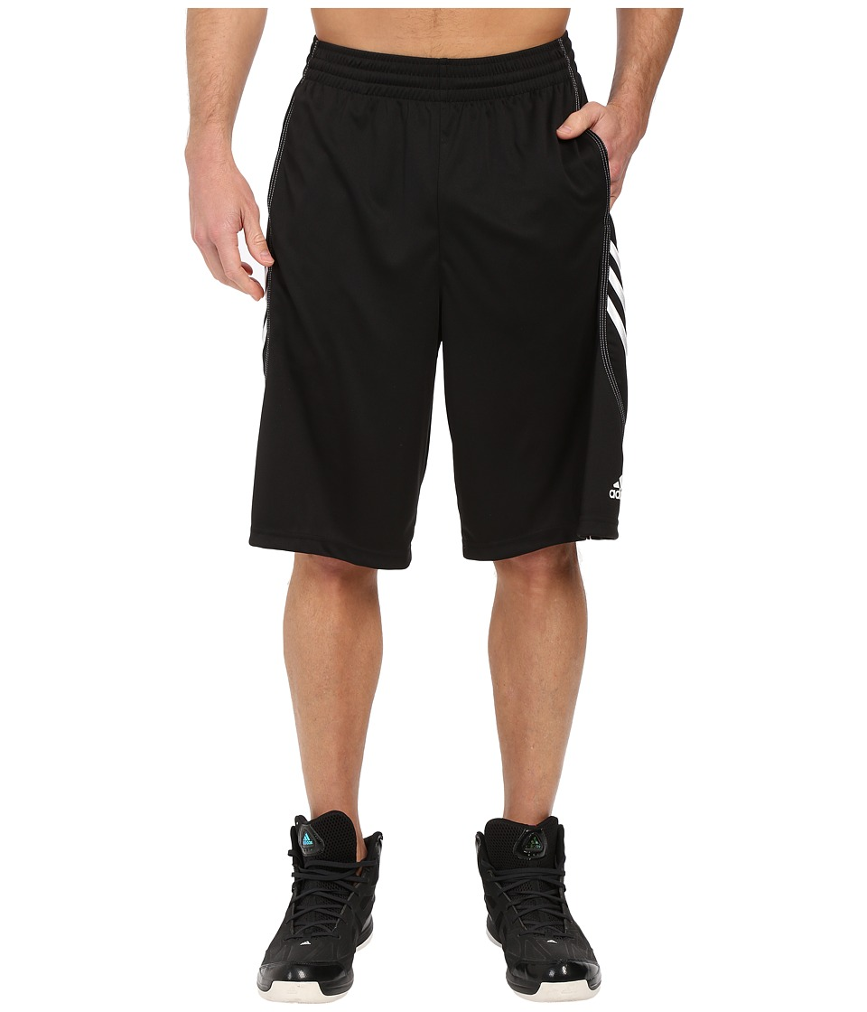 adidas - Basic Short 1 (Black/White) Men's Shorts