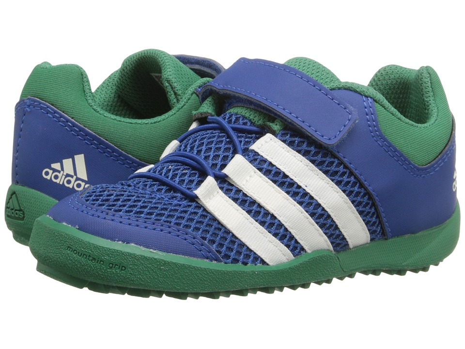 adidas Outdoor Kids - Daroga Plus AC (Toddler) (Equipment Blue/Chalk White/Blanch Green) Boy's Shoes
