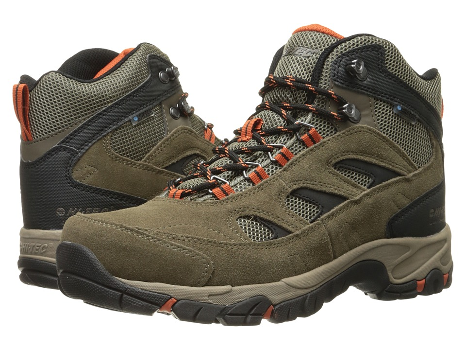 Hi-Tec - Logan WP (Smokey Brown/Taupe/Red Rock) Men's Hiking Boots