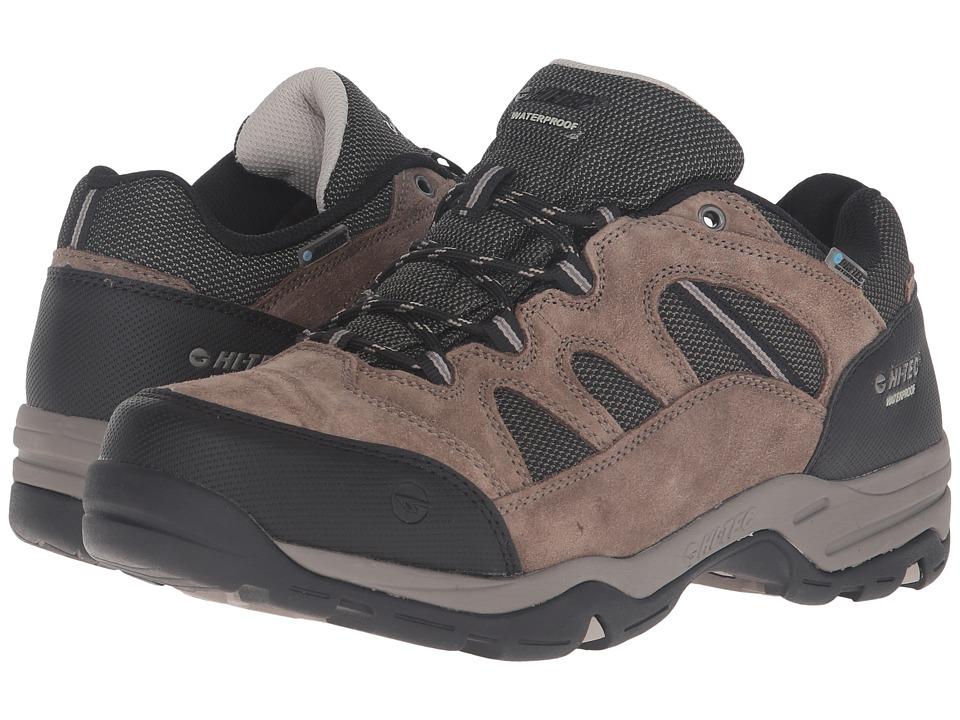 Hi-Tec - Bandera II Low Waterproof (Smokey Brown/Olive/Snow) Men's Shoes