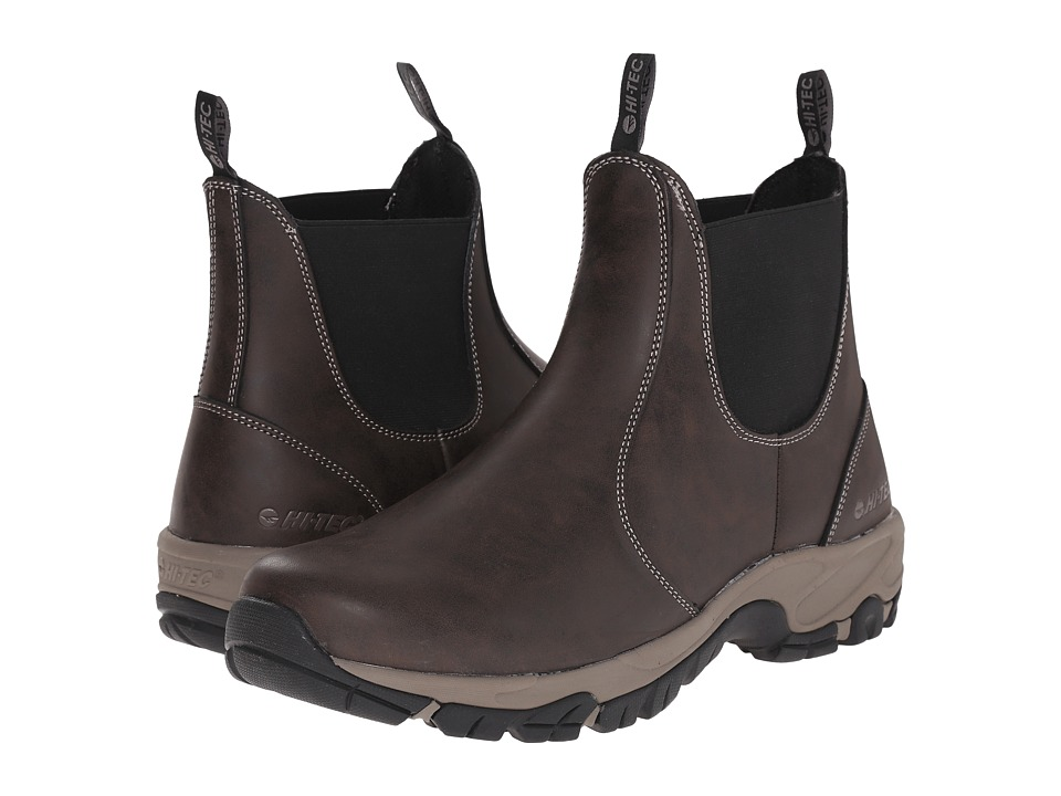 Hi-Tec - Altitude Chelsea Waterproof (Dark Chocolate) Men's Boots