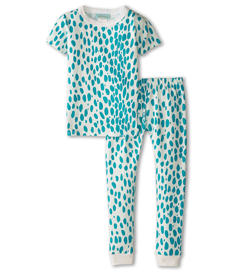 BedHead Kids - Short Sleeve Tween Snug PJ (Big Kids) (Ivory Lynx) Girl's Pajama Sets