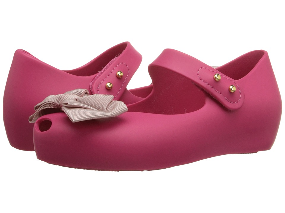 Mini Melissa - Ultragirl Sweet (Toddler) (Pink) Girls Shoes