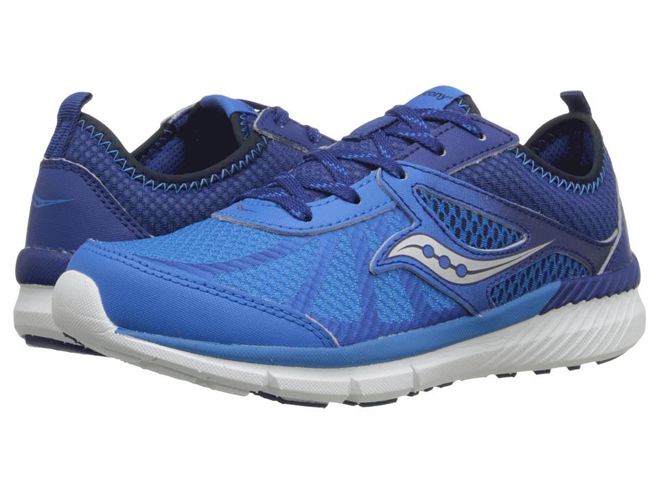Saucony Kids Volt (Little Kid) (Blue) Boys Shoes