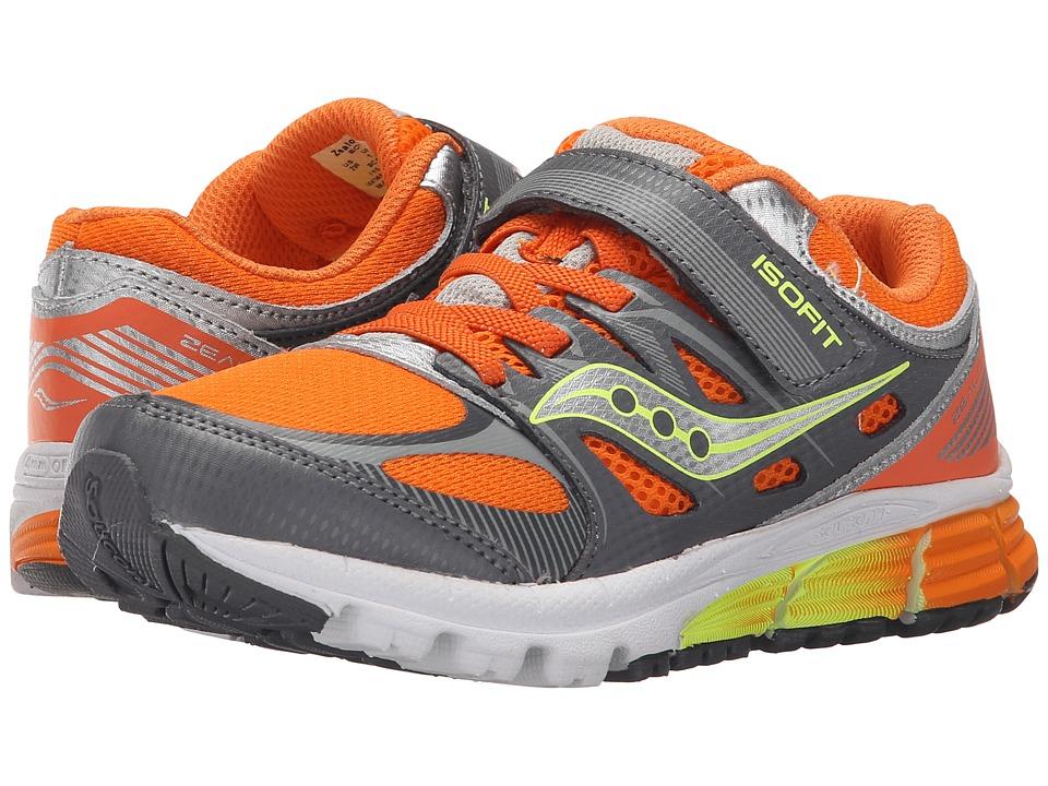 adec6542 saucony sneakers kids orange