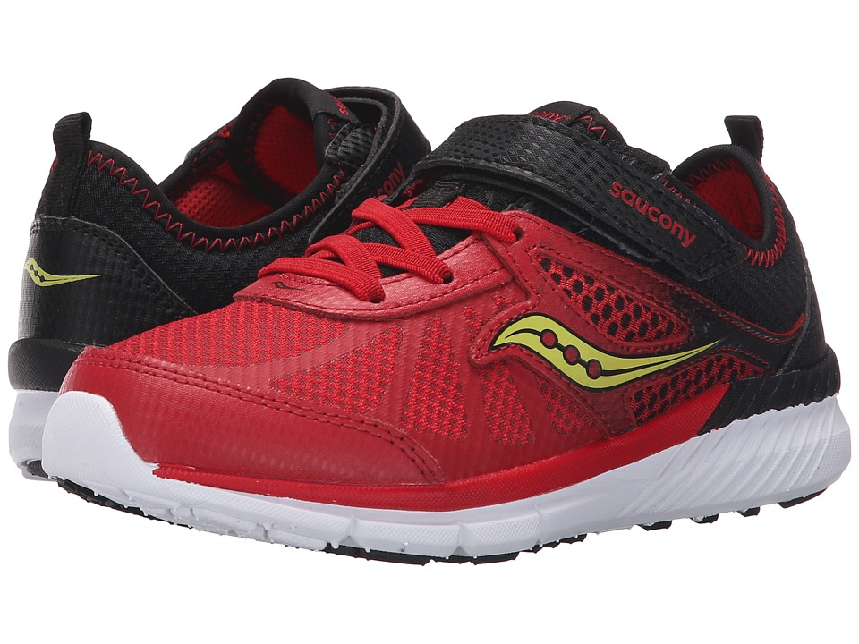 Saucony Kids - Volt A/C (Little Kid) (Red/Black) Boys Shoes