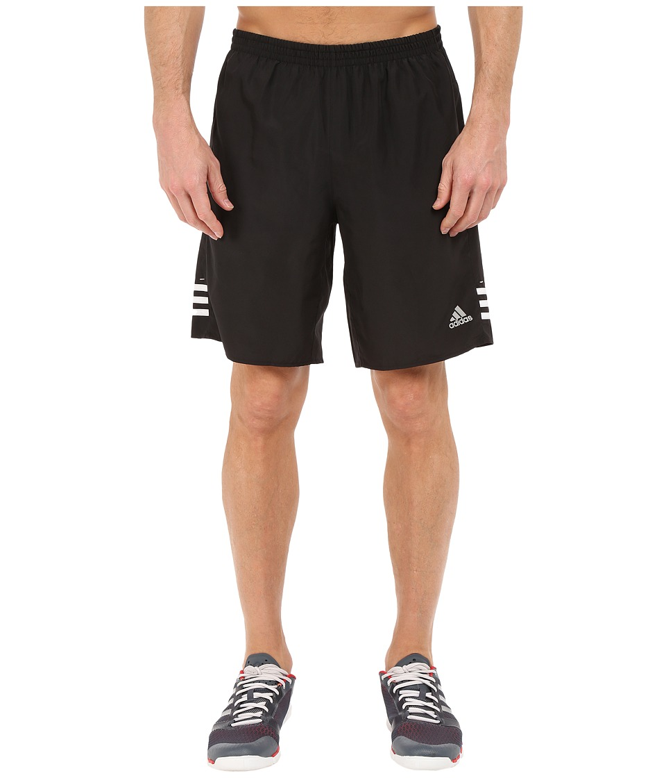 adidas - Response 9 Shorts (Black/White/Matte Silver) Men's Shorts