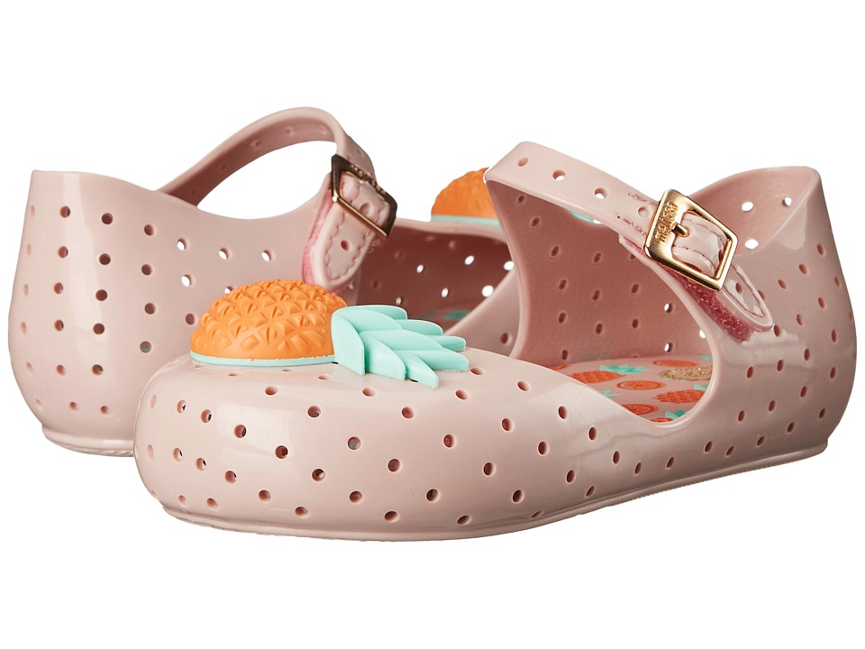 Mini Melissa - Furadinha VII (Toddler) (Pink) Girls Shoes