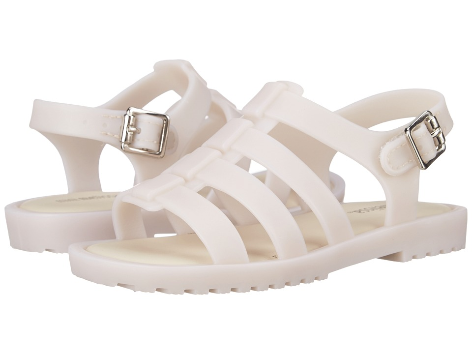 Mini Melissa - Flox (Toddler) (Off White) Girls Shoes